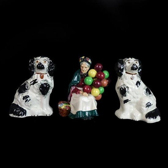 Royal Doulton and Staffordshire Figures