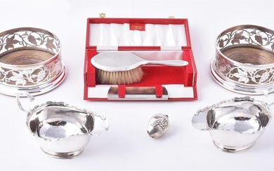 Silver and plated wares