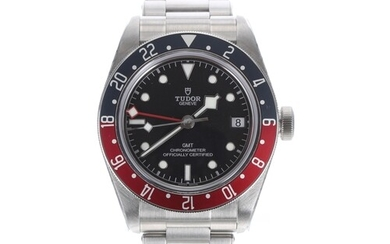 Tudor Black Bay GMT automatic stainless steel gentleman's wr...