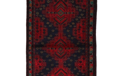 3'10 x 6'5 Hand-Knotted Area Rug