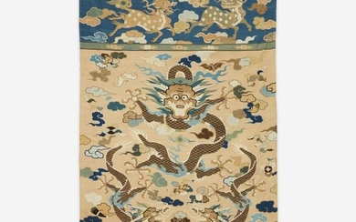 "A large kesi tapestry ""Dragons"" panel"