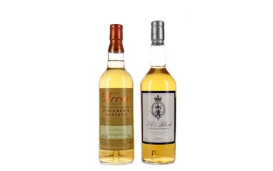 ARRAN FOUNDER'S RESERVE AND ROYAL & ANCIENT NO. 1 BLEND