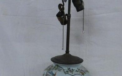 Chinese Export Vase/Lamp