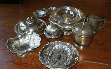 Collection of Silver Plate Hollowware