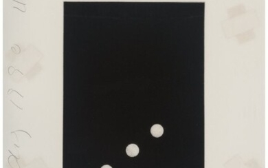 Donald K. Sultan (b. 1951) Untitled, from Domino