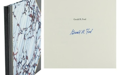 Gerald Ford Signed Book