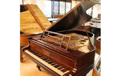 Schiedmayer (c1890s) A 6ft 2in grand piano in a rosewood cas...
