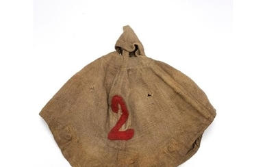WW1 Imperial German 2nd Infantry Pickelhaube Cover Dated 191...