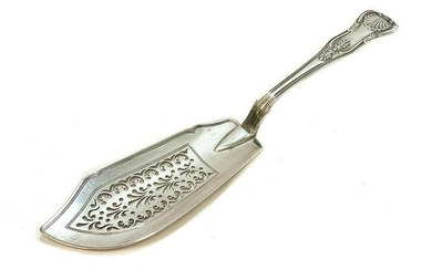 William Eaton Sterling Silver Fish Serving Knife, 1835