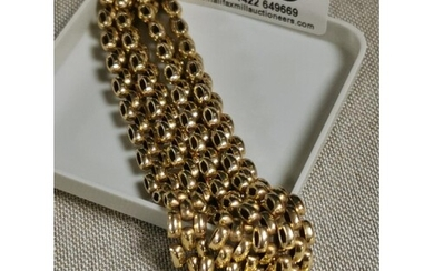 9ct Gold Curb Chain - weight 31g