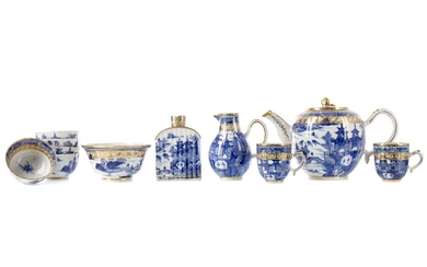 AN EARLY 19TH CENTURY CHINESE PORCELAIN PART TEA SERVICE