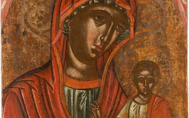 AN ICON SHOWING THE HODIGITRIA MOTHER OF GOD Greek