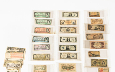 Collection of U.S. and Foreign Currency