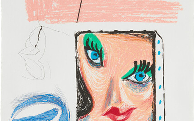 David Hockney, An Image of Celia Study, from Moving Focus Series (M.C.A.T. 280)