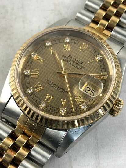 Rolex - Oyster Perpetual Datejust - 16233 - Men - 1980-1989