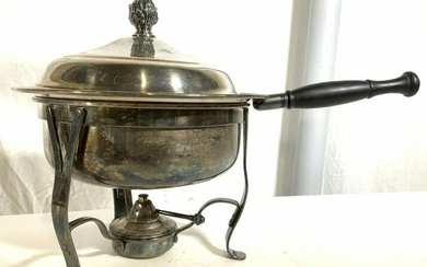 Silver Plated Chafing Dish