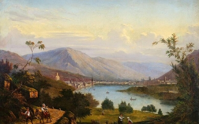 View of Trient / Trentino, Painting, ca. 1830/40