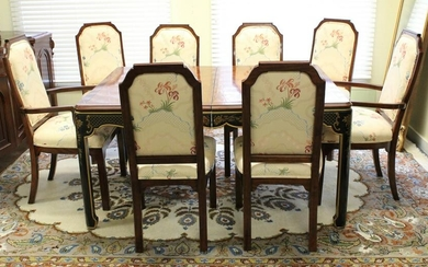 Vintage Kindel Asian Style Table and Chairs