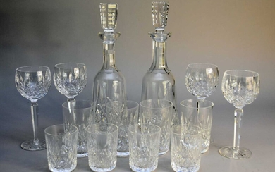 Waterford Crystal in the 'Lismore' pattern