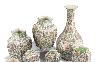 A COLLECTION OF ROYAL DOULTON PERSIAN PATTERN POTTERY, compr...