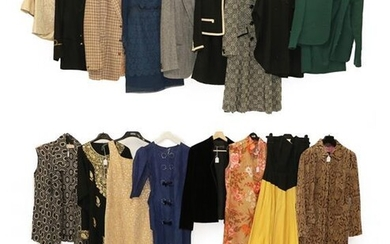 Assorted 20th Century Mainly Ladie's Costume, comprising a 1930 blue...