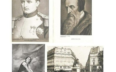 Early 1900's Half Tone Prints, French HIstory