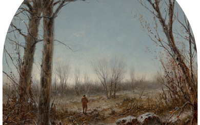 George Henry Boughton (1833-1905), Frosty Morning