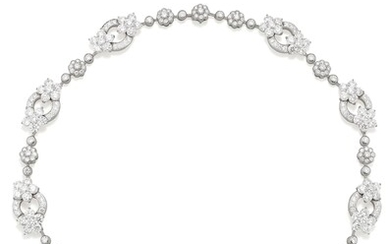 Graff, A Diamond and Gold Necklace