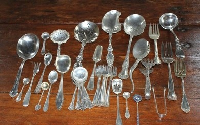 Group of Miscellaneous Sterling Flatware