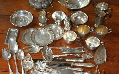 Group of Miscellaneous Sterling Items