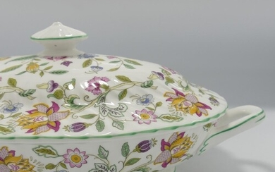 Minton Haddon Hall patterned dinner ware to include: 2 x tur...