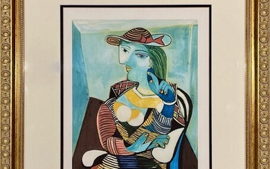 """After Pablo Picasso, lithograph, """"Marie-Therese Walter"""""""