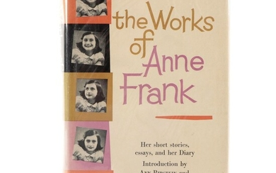 """First Edition """"The Works of Anne Frank,"""" 1959"""