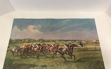 Limited Edition print by J King of Horse Racing