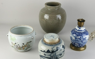 Lot Chinese porcelain (4x)