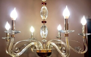Maury - SLC-ÉLITE - Chandelier - Contemporary - Crystal