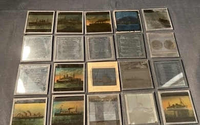 OCEAN LINER: Magic lantern slides to include views of ships ...
