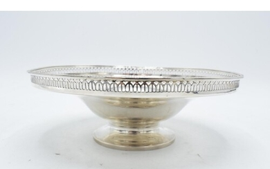 Silver comport / footed bowl, Birmingham 1925 made by Oldfie...