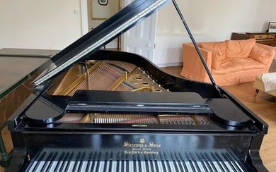 Steinway (c1893) A 6ft 11in 85-note Model B grand piano in a...