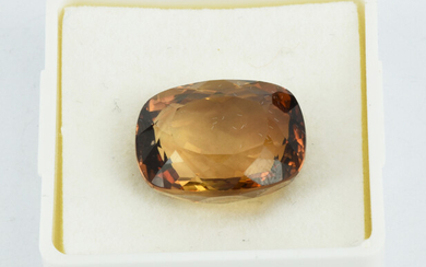 A 24CT IMPERIAL TOPAZ
