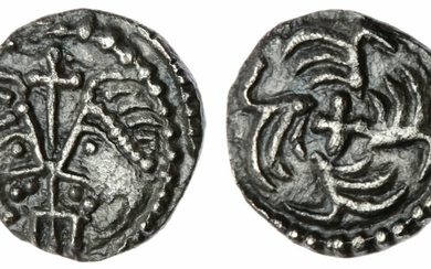 Anglo-Saxon England, Secondary Series (710-760), Series J, Sceat, Type 37, 'York'