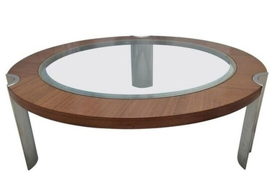 Italian Excelsior Contemporary Modern Coffee Table
