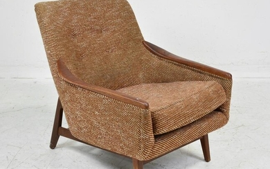 Mid Century Low Back Lounge Chair