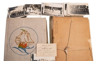 Of Canada interest. A collection of liner ephemera and photo...