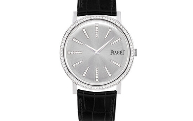 PIAGET, WHITE GOLD AND DIAMOND-SET