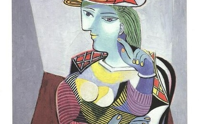 Portrait of Marie Therese - Pablo Picasso