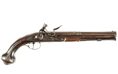 c1750 American Revolutionary War Flintlock Pistol
