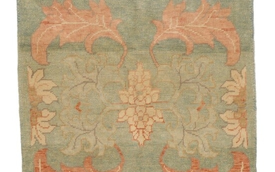 4'5 x 4'5 Hand-Knotted Turkish Donegal Area Rug