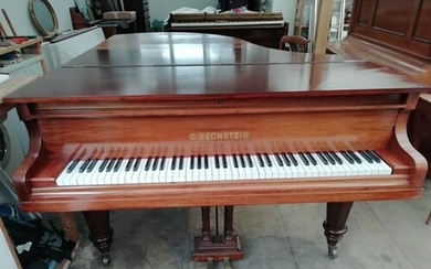 Bechstein A 6ft 7in Model B grand piano in a rosewood case o...