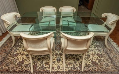 Casa Stradivari Dining Table and 6 Chairs